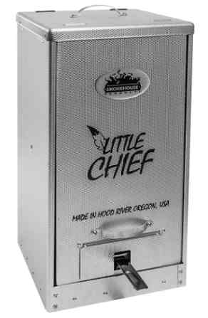 Smokehouse products Little Chief top Digital Electric Smoke